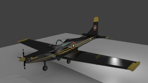 PC-9 Pilatus Plane preview image