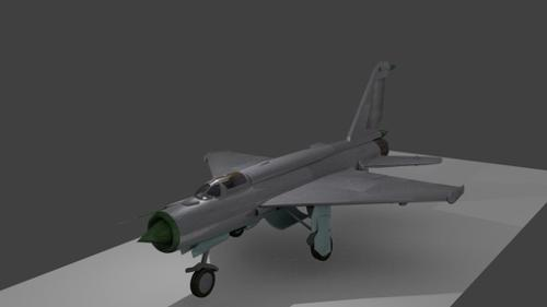MiG-21 Fighter preview image