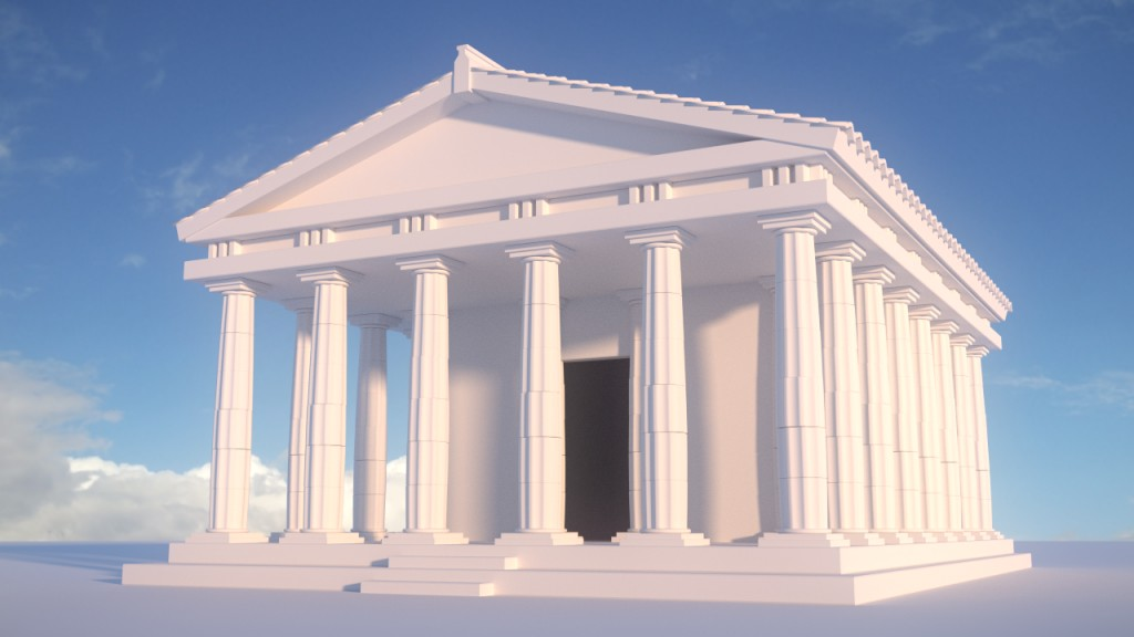 CGC Classic: Greek Temple preview image 1