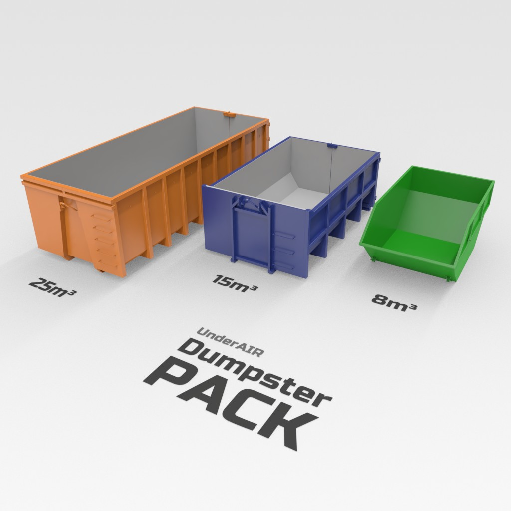 Dumpster pack preview image 1