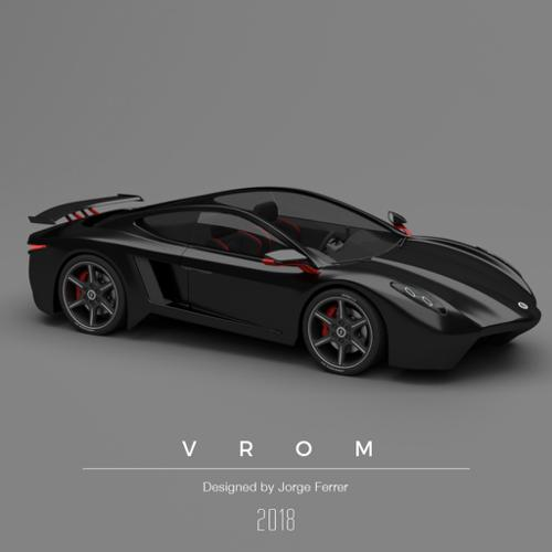 Vrom - Sportscar Design preview image