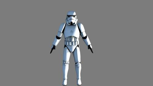 Star Wars Stormtrooper preview image