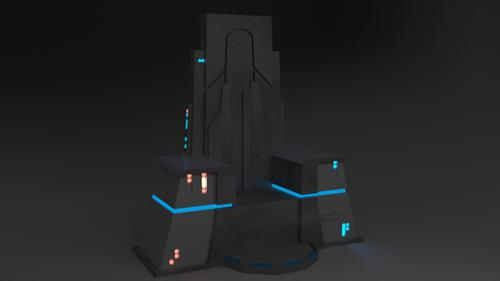 General Snoke's chair - The Last Jedi preview image
