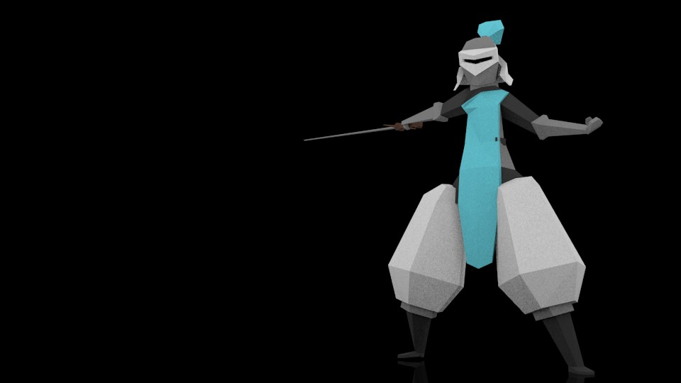 Light blue knight preview image 2