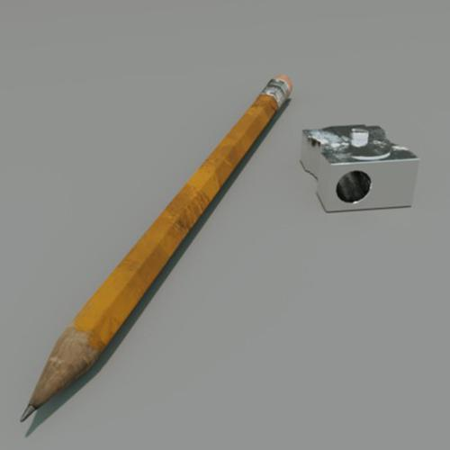 pen and pecilsharpener preview image