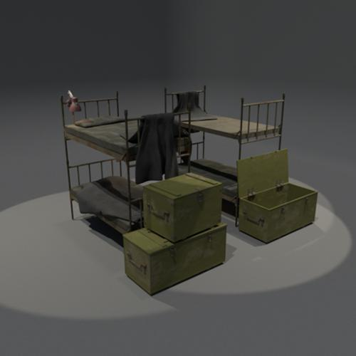 bunkbeds and boxes preview image