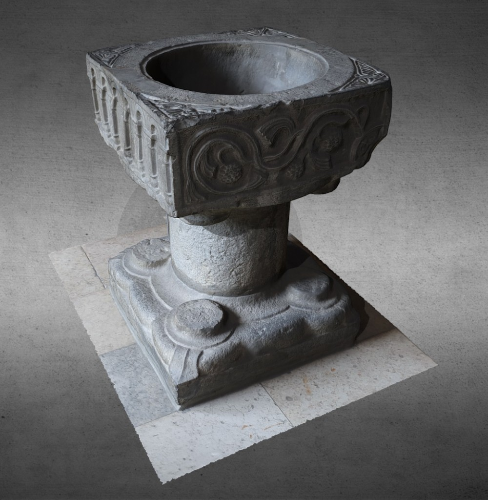 Baptismal font preview image 1