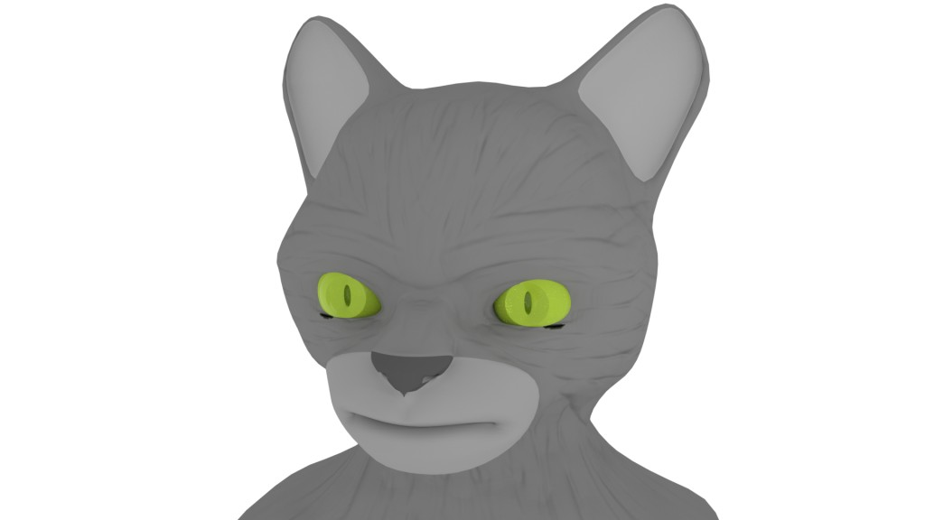 Cat head preview image 1