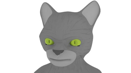 Cat head preview image