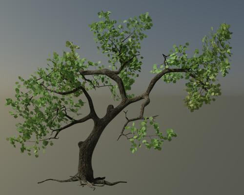 Rigged Tree preview image