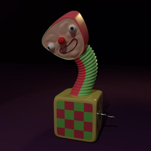 unsettling clown toy (Lumpy the Clown) preview image