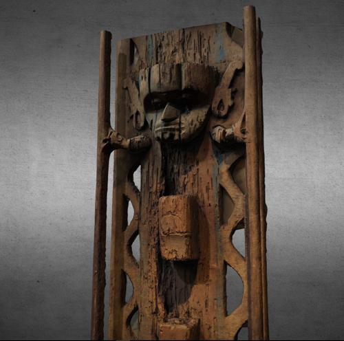 Ladder, Dayak People, Kalimantan preview image