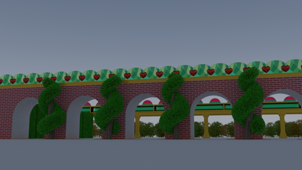 Heart Arch Gate preview image 2