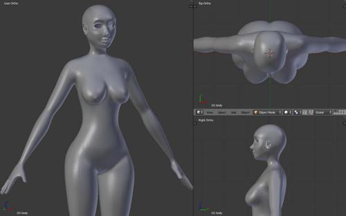 Female Base Model preview image