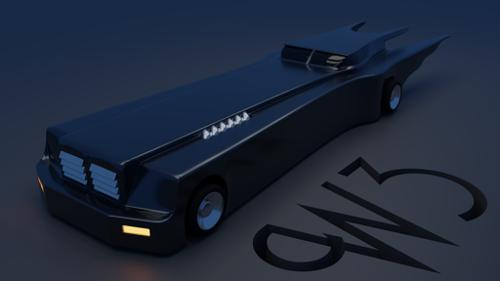 Batman: TAS Batmobile preview image