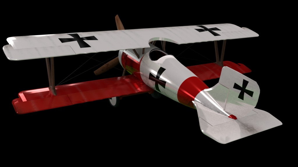 Airplane Aircraft Tow Wings Monomotor Avioneta MonoPlaza WW1 preview image 4