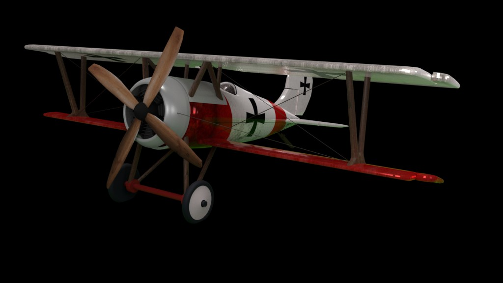 Airplane Aircraft Tow Wings Monomotor Avioneta MonoPlaza WW1 preview image 3