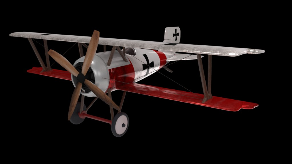 Airplane Aircraft Tow Wings Monomotor Avioneta MonoPlaza WW1 preview image 5
