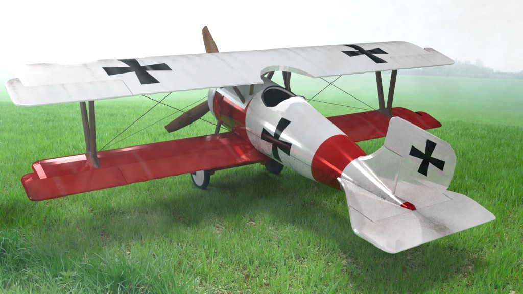 Airplane Aircraft Tow Wings Monomotor Avioneta MonoPlaza WW1 preview image 1