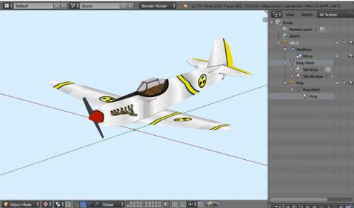 WW2 Fighter Plane preview image