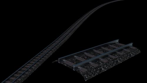 Small modular train track preview image