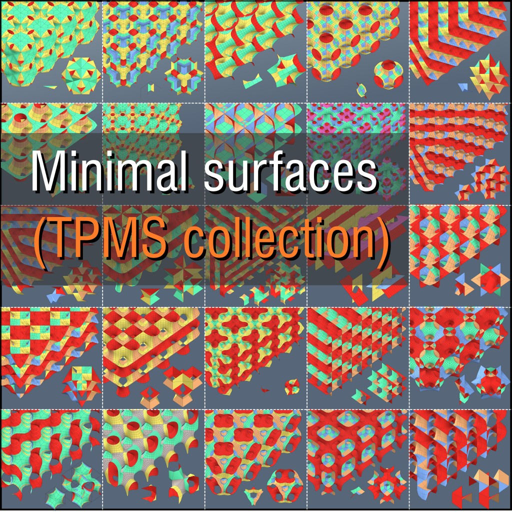 MINIMAL SURFACES (TPMS collection) preview image 1