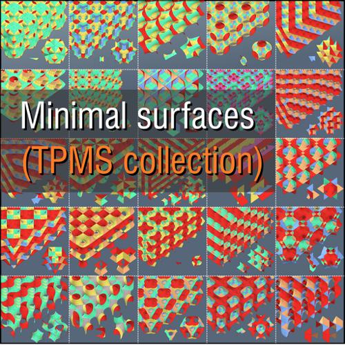 MINIMAL SURFACES (TPMS collection) preview image