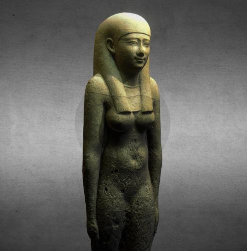 Ptolemaic statue of a woman preview image