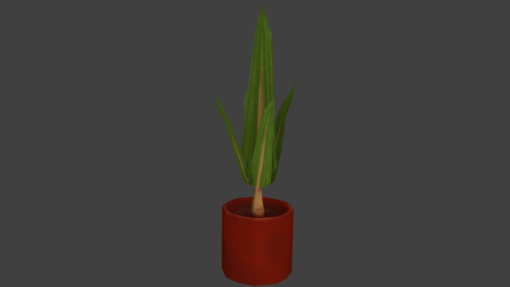 plant on vase preview image 1