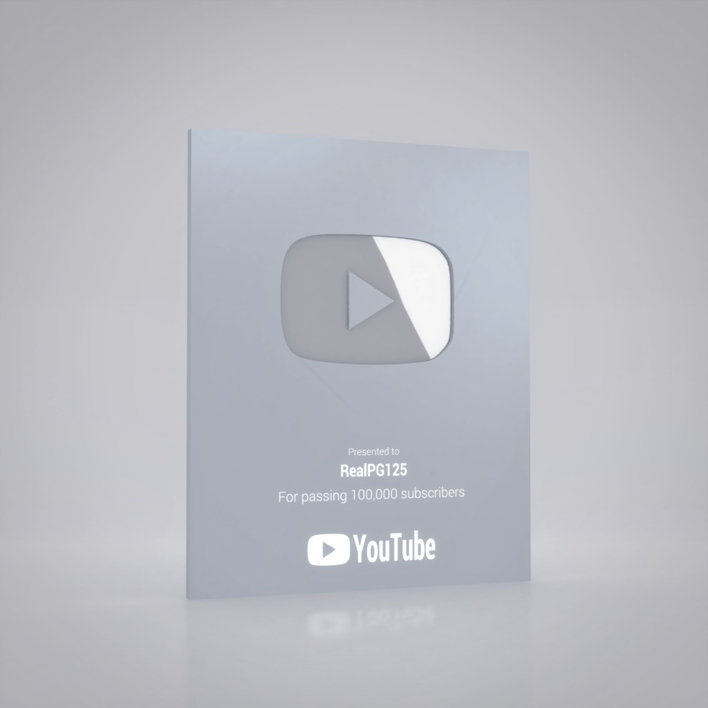 Silver YouTube Creator Awards preview image 1