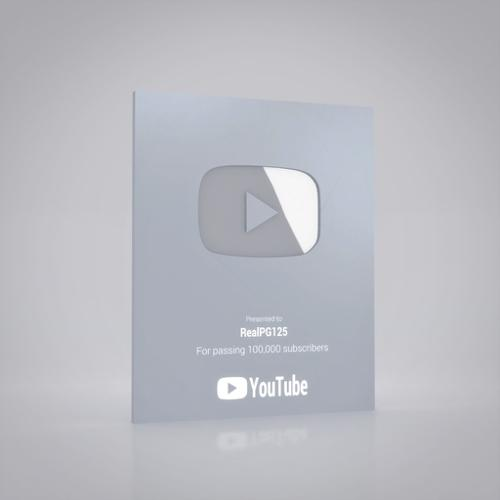 Silver YouTube Creator Awards preview image
