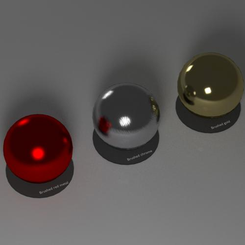 brushed metal materials by SLSProductions preview image