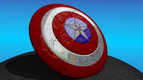 Captain America's shield preview image