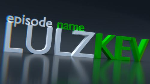 LULZKEV YouTube Intro preview image