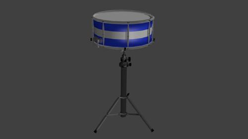 Simple snare drum on stand preview image
