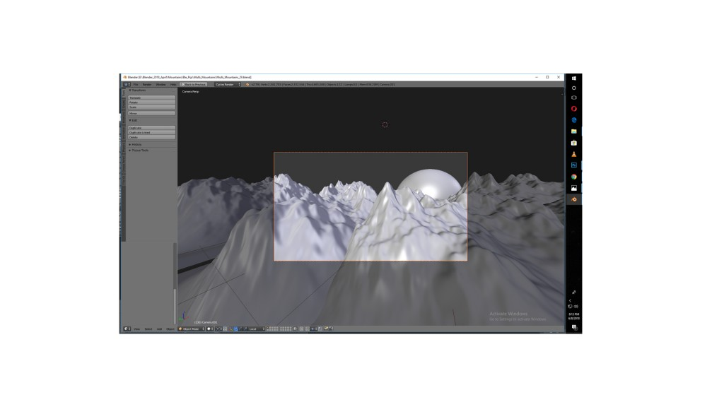 Mountain_Animation_Animated_Scene preview image 2