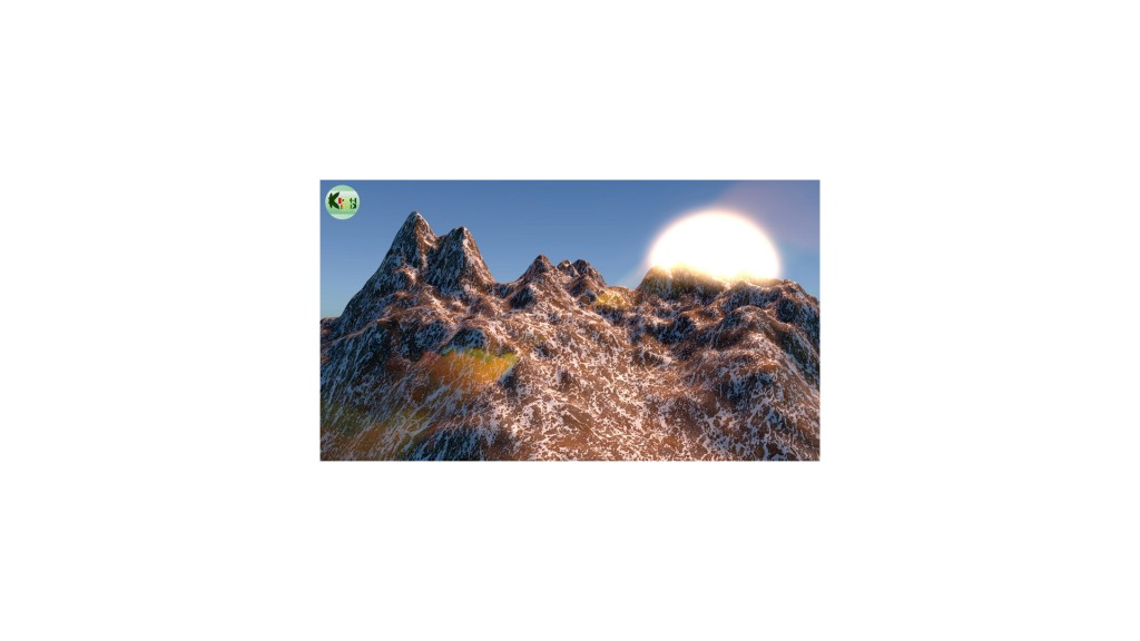 Mountain_Animation_Animated_Scene preview image 1