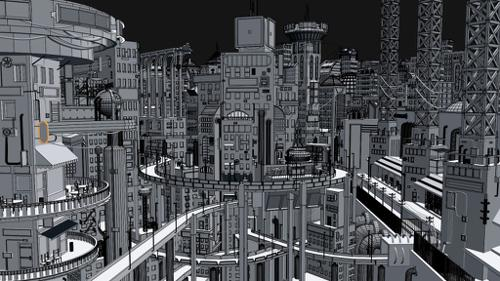 cyberpunk City preview image