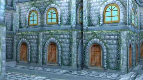 A walk in old stone city street preview image
