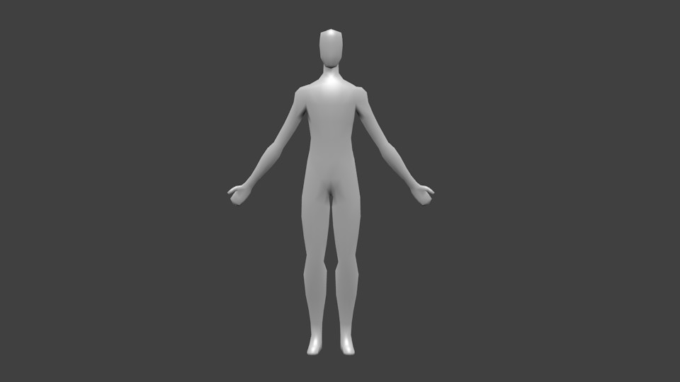 Basic male character preview image 1