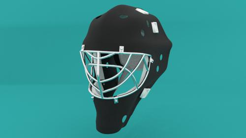 Hockey Goalie Mask  preview image