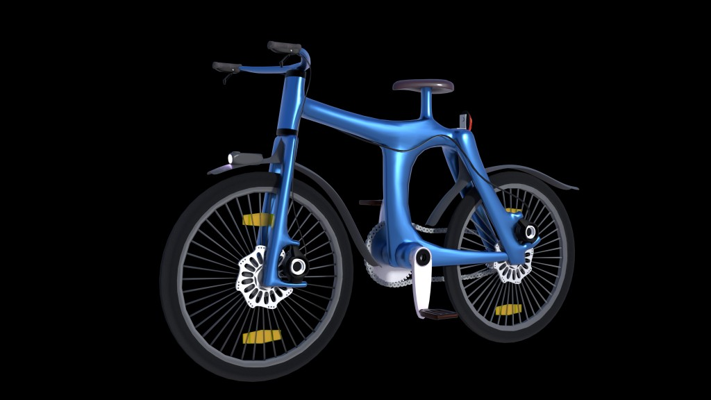 Blue Bicycle preview image 1