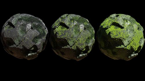 Procedural Rock with Moss preview image