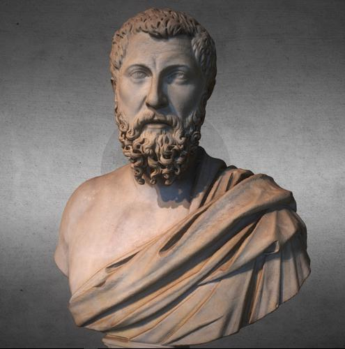 Bust of a rhetorician preview image