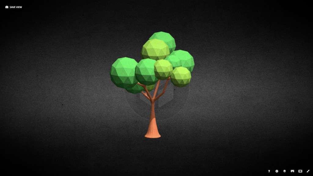 Low Poly Tree preview image 1