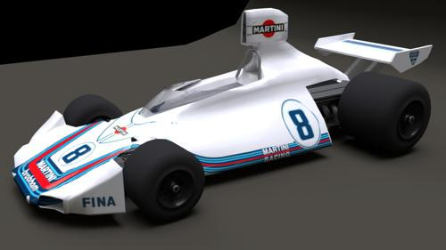 Brabham BT44 Low Poly preview image