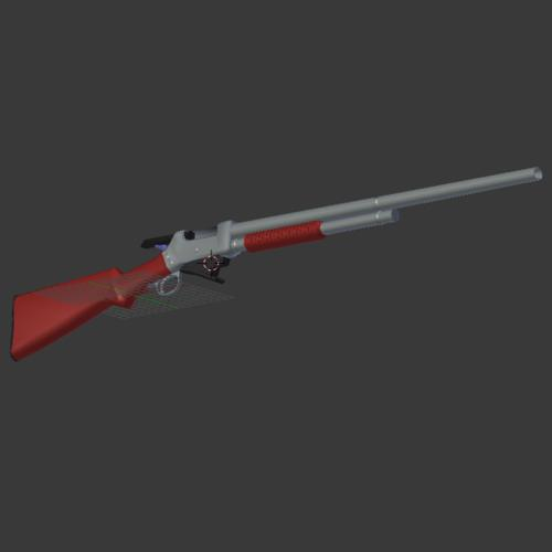 Winchester Model 1897 Pump-action Shotgun preview image