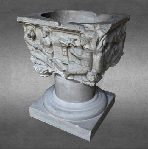Baptismal font preview image