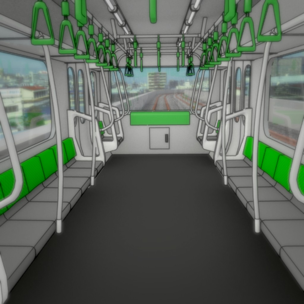 Japanese Subway Train preview image 4