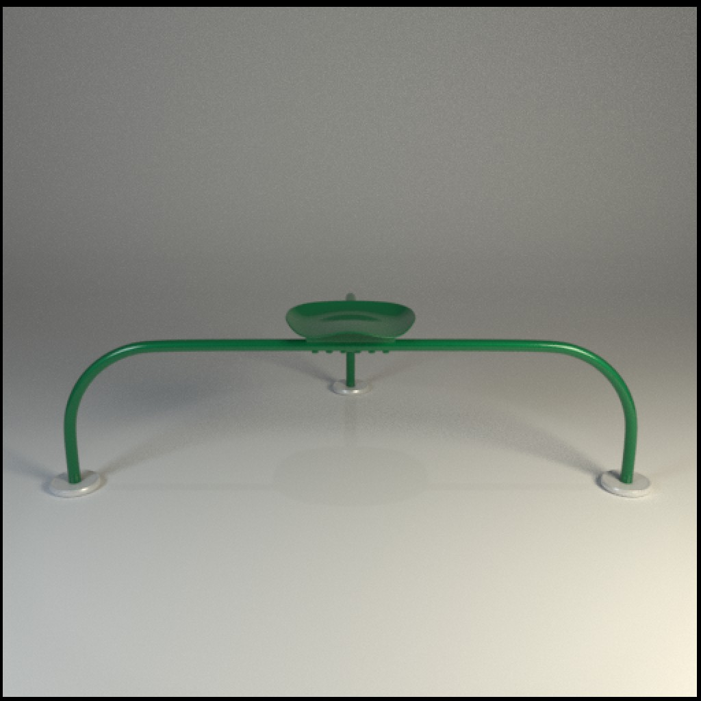 Italian Design Outdoor Stool preview image 2